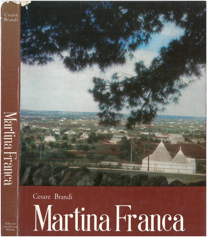 Copertina libro martina franca cesare brandi