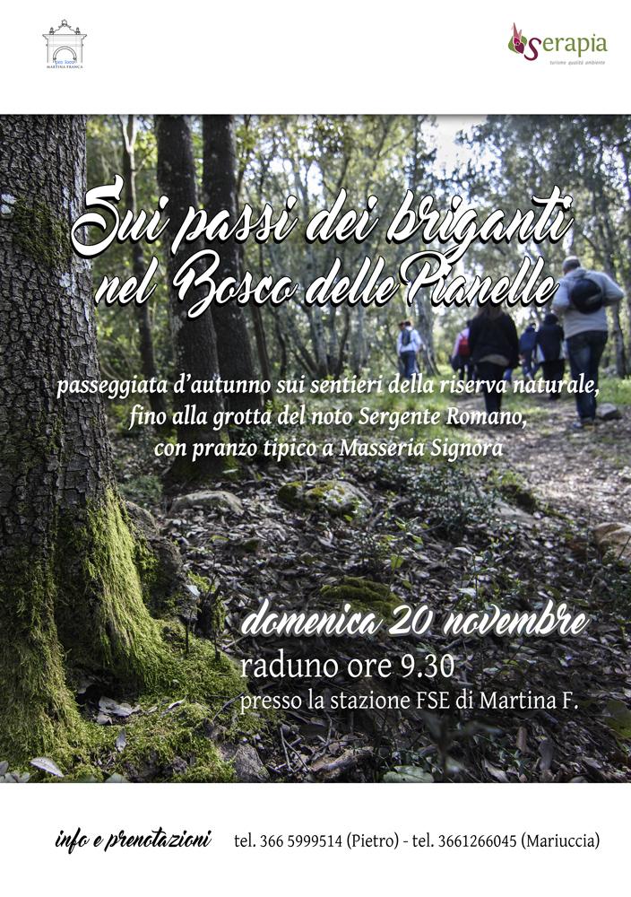 Escursione nel Bosco delle Pianelle
